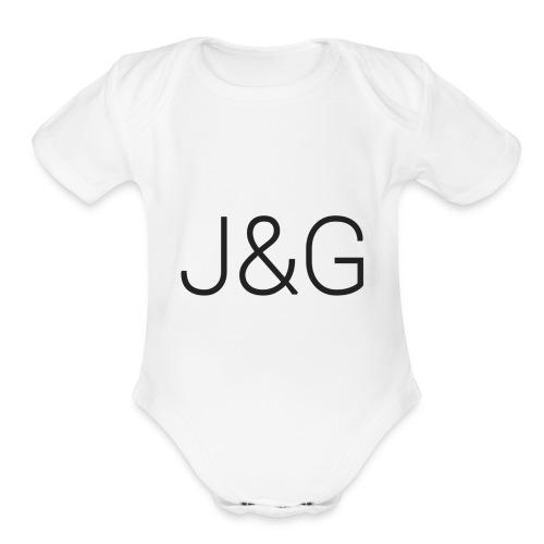 THE JAMARGÈÈ ALL USE WEAR - Organic Short Sleeve Baby Bodysuit