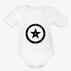 The Circle - Short Sleeve Baby Bodysuit