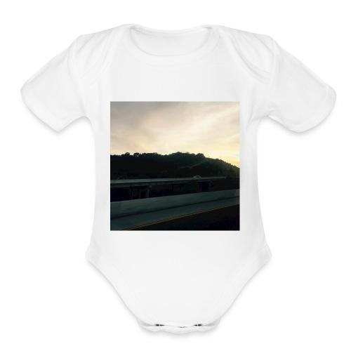 2016 09 29 - A Trip - Organic Short Sleeve Baby Bodysuit