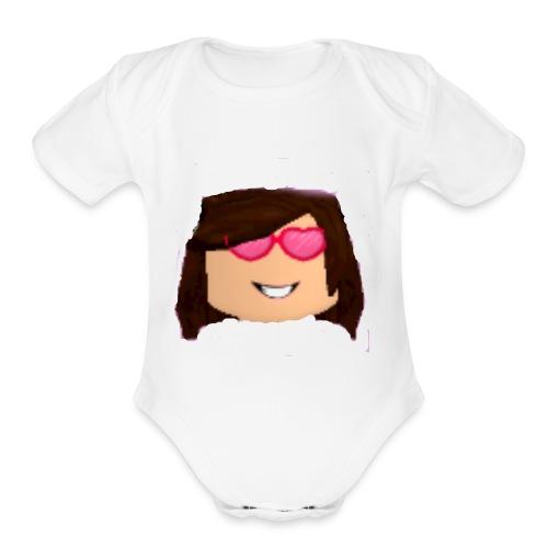 AXXXLOL - Organic Short Sleeve Baby Bodysuit