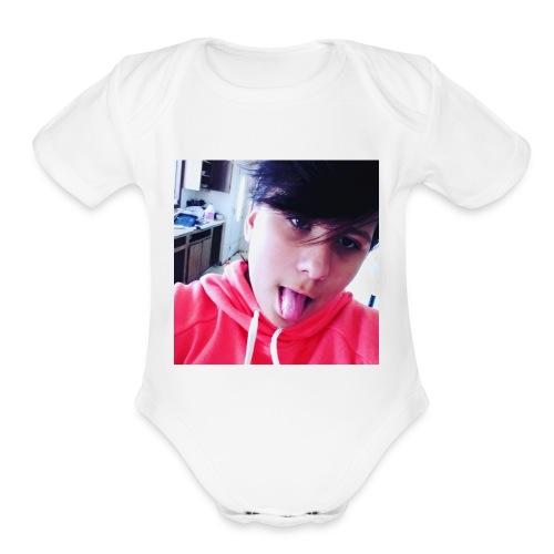 Sweatshit - Organic Short Sleeve Baby Bodysuit
