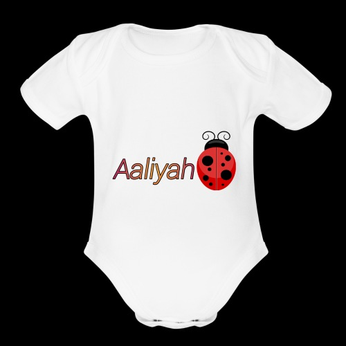 Leabug - Organic Short Sleeve Baby Bodysuit