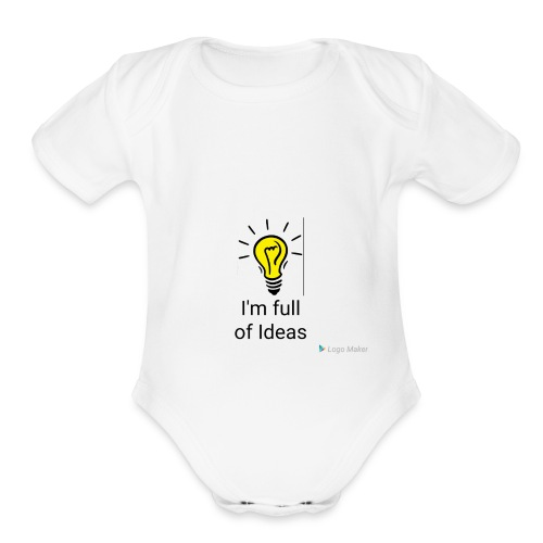 Full of Ideas Apparel - Organic Short Sleeve Baby Bodysuit
