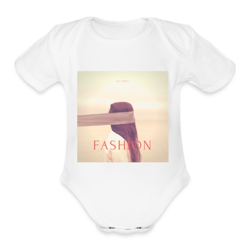 Allout Fashion - Organic Short Sleeve Baby Bodysuit