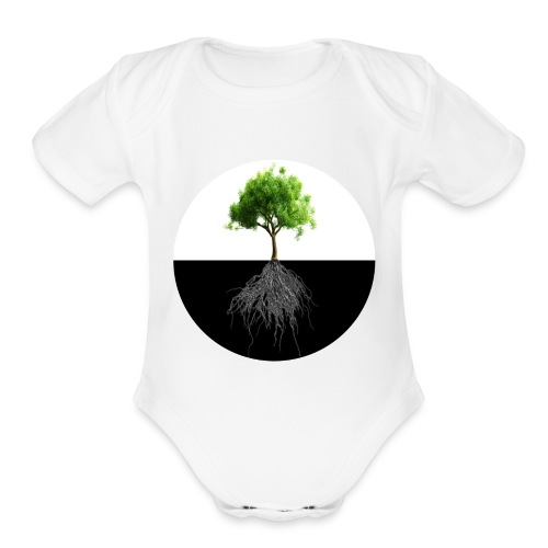 An Instrumental Insight Into Life Album Cover - Organic Short Sleeve Baby Bodysuit