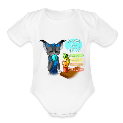 Need Coffee! - Organic Short Sleeve Baby Bodysuit