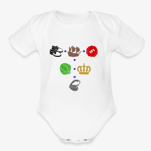 walrus and the carpenter - Short Sleeve Baby Bodysuit