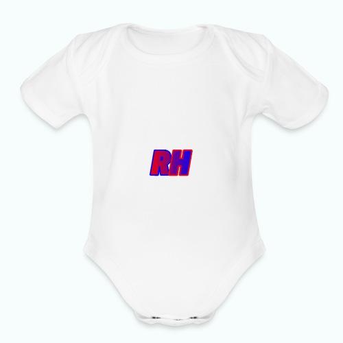 Ragan Hutchison - Organic Short Sleeve Baby Bodysuit
