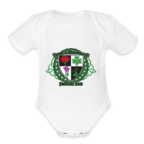 design - Organic Short Sleeve Baby Bodysuit