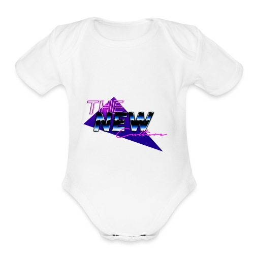the new culture - Organic Short Sleeve Baby Bodysuit