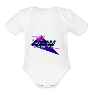 the new culture - Short Sleeve Baby Bodysuit