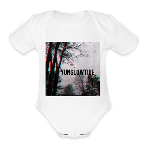 Yunglowtide - Organic Short Sleeve Baby Bodysuit
