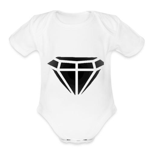 Black Diamond Gaming - Organic Short Sleeve Baby Bodysuit