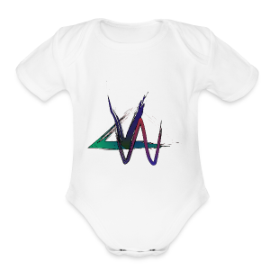 Variance Just the logo - Short Sleeve Baby Bodysuit