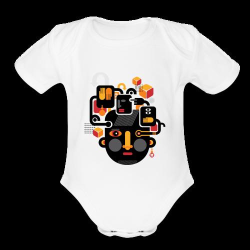 nbx.directory - Organic Short Sleeve Baby Bodysuit