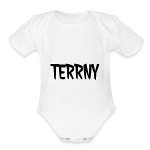 Terrny - Short Sleeve Baby Bodysuit