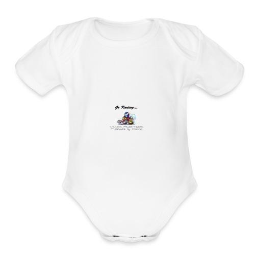 gokarting - Organic Short Sleeve Baby Bodysuit