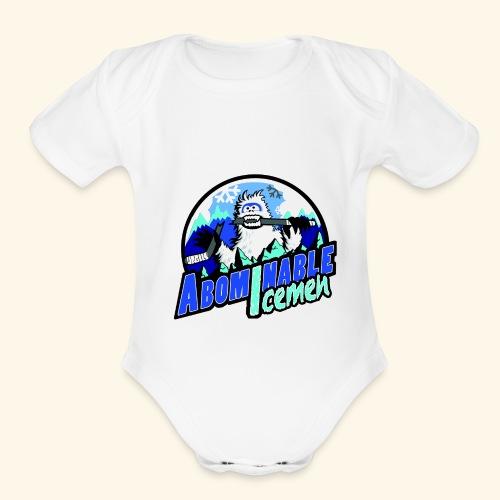 Abominable Icemen - Organic Short Sleeve Baby Bodysuit