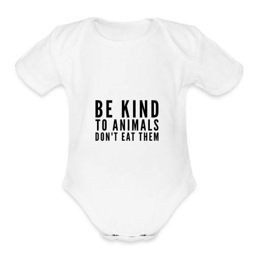 Be Kind Shirt - Organic Short Sleeve Baby Bodysuit