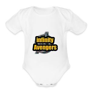 avengers infinity war - Short Sleeve Baby Bodysuit