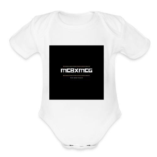 MCBXMCG - Organic Short Sleeve Baby Bodysuit
