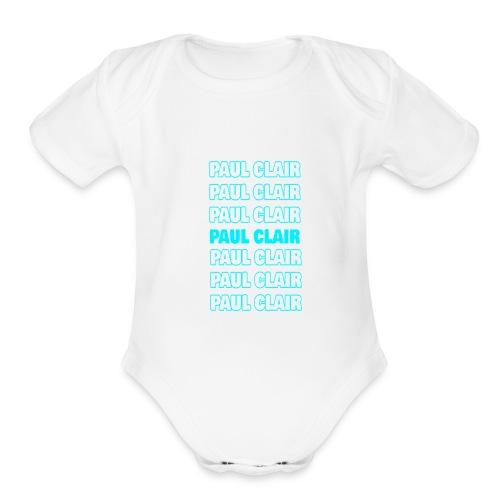 Paul Clair Stand Out Youth & Babies - Organic Short Sleeve Baby Bodysuit