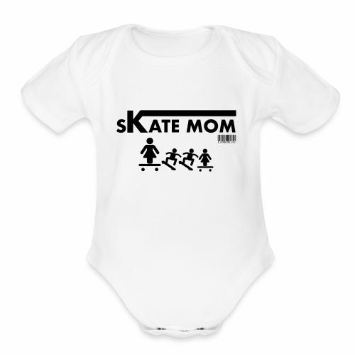 SkateMom - Organic Short Sleeve Baby Bodysuit
