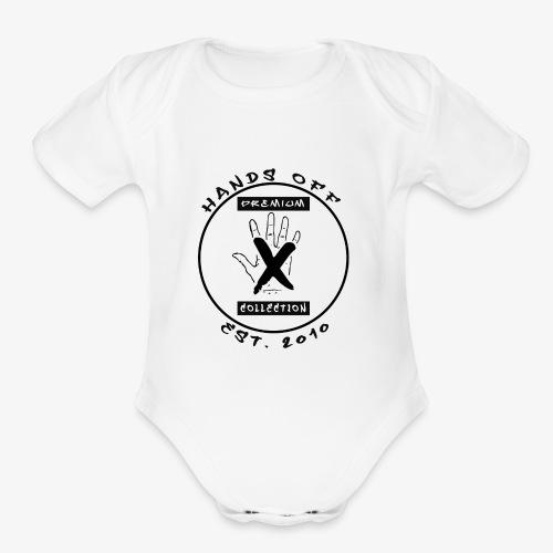 HANDS OFF APPAREL - Organic Short Sleeve Baby Bodysuit
