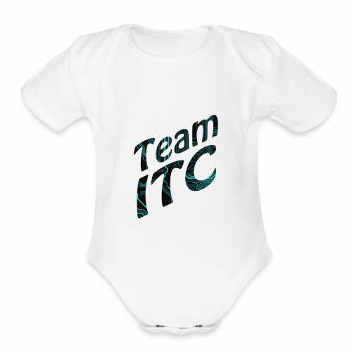 TEAM ITC - Organic Short Sleeve Baby Bodysuit