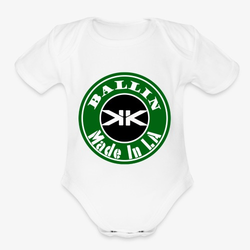 Ballin Edition by Kevin Kloth - Organic Short Sleeve Baby Bodysuit