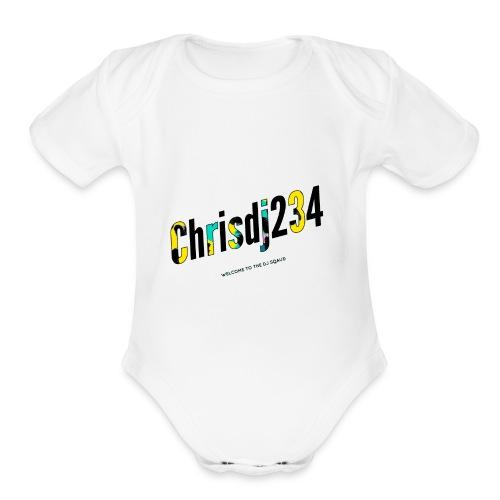 Spark - Organic Short Sleeve Baby Bodysuit