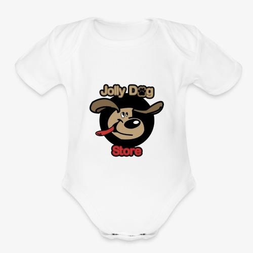 jolly dog store - Organic Short Sleeve Baby Bodysuit