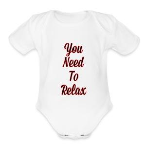 Redzone - Short Sleeve Baby Bodysuit