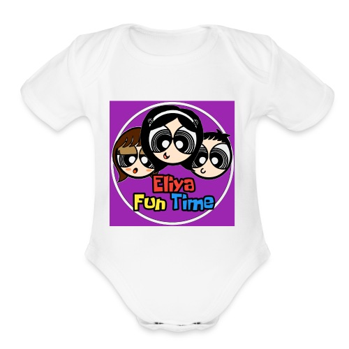 final 2 - Organic Short Sleeve Baby Bodysuit