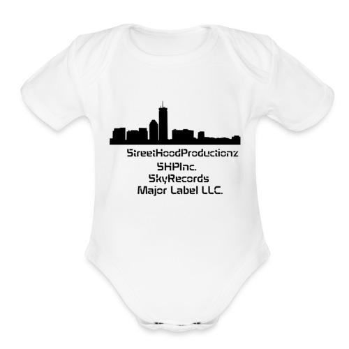 SHP Entertainment, Inc. LTD - Organic Short Sleeve Baby Bodysuit
