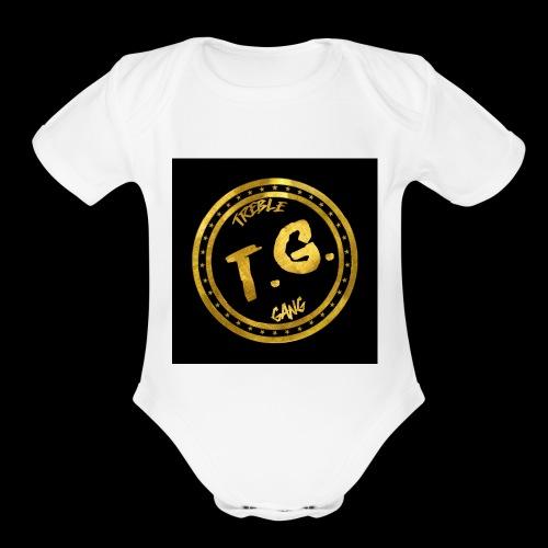 OG TrebleGang - Organic Short Sleeve Baby Bodysuit