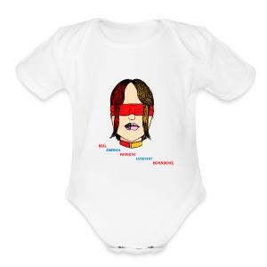 Blindness - Short Sleeve Baby Bodysuit