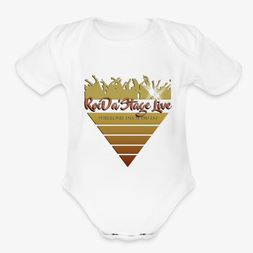 RDSL - Organic Short Sleeve Baby Bodysuit