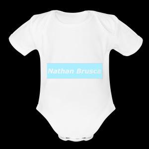 boxname - Short Sleeve Baby Bodysuit