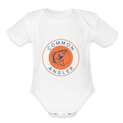 The Common Angler - Organic Short Sleeve Baby Bodysuit