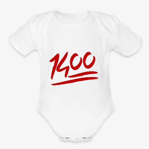 1400 Merchandise - Organic Short Sleeve Baby Bodysuit