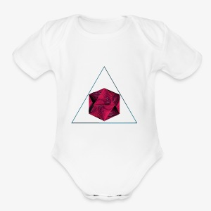 Abstract body - Short Sleeve Baby Bodysuit