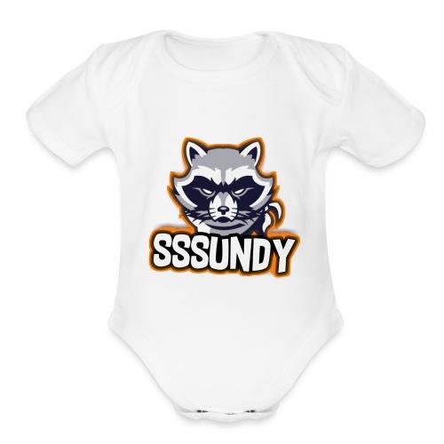 SSSundy - Organic Short Sleeve Baby Bodysuit