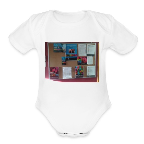 Life without barriers - Organic Short Sleeve Baby Bodysuit