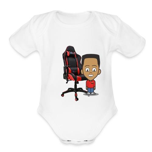 41ZbqrNqE0L AC US218 - Organic Short Sleeve Baby Bodysuit