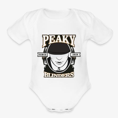 Peaky Blinders - Organic Short Sleeve Baby Bodysuit