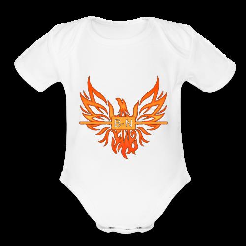 BN - Organic Short Sleeve Baby Bodysuit
