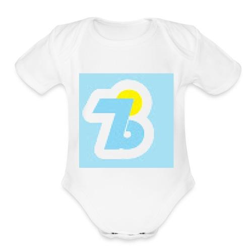 IB7 Merch - Organic Short Sleeve Baby Bodysuit