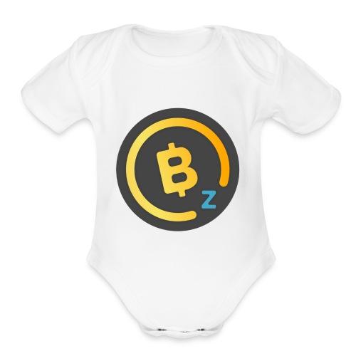 BitcoinZ Logo - Organic Short Sleeve Baby Bodysuit