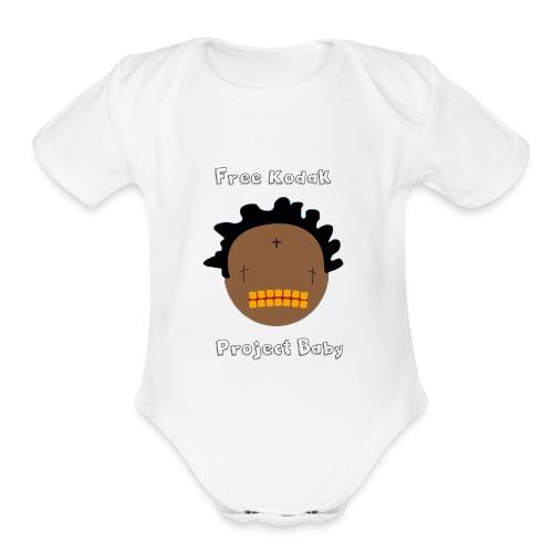 Free Kodak - Organic Short Sleeve Baby Bodysuit